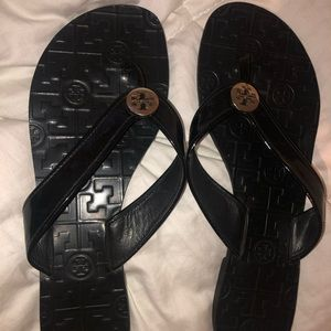 TORY BURCH Thora Flip Flop Thong Sandals Size 11